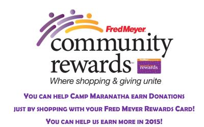 Community Rewards – Fred Meyer